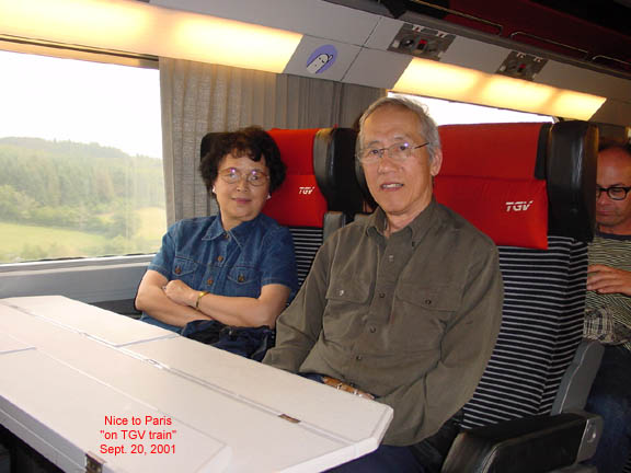 day 15 tgv train from nice to paris. Black Bedroom Furniture Sets. Home Design Ideas